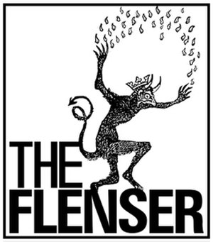 The Flenser - Image: Flenser logo white