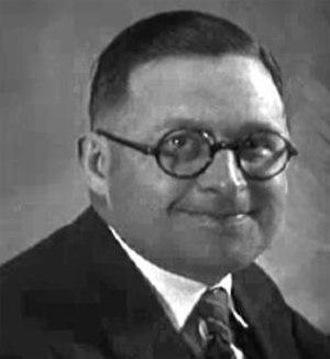 Frank Willard - Frank Willard in 1931.