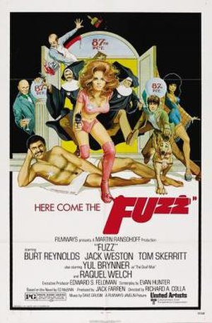Fuzz (film) - Theatrical release poster