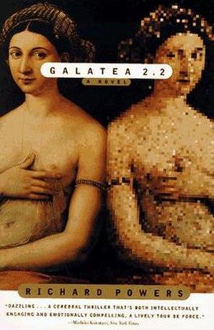 Galatea 2.2 - The cover of Galatea 2.2 incorporates the Raphael painting La fornarina.