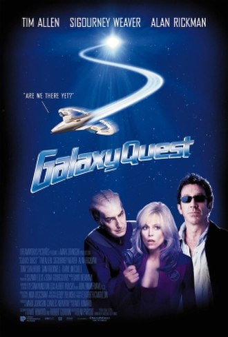 Galaxy Quest - Theatrical release poster