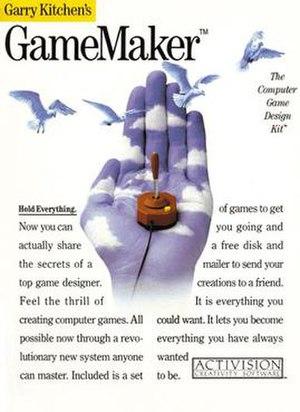 Garry Kitchen's GameMaker - Image: Garry Kitchen boxfront