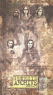 <i>Genesis Archive 1967–75</i> 1998 box set by Genesis