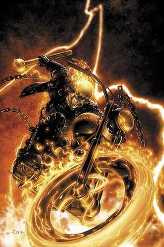 Ghost Rider (Johnny Blaze) - Image: Ghost Rider CVR001b