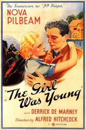 Young and Innocent - American theatrical release poster with alternate title