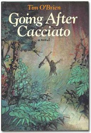 Going After Cacciato - First edition