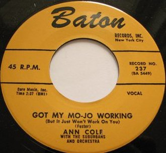 Got My Mojo Working - Image: Got My Mo Jo Working single cover