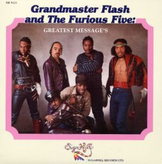 Greatest Messages - Image: Grandmaster Flash and The Furious Five Greatest Messages