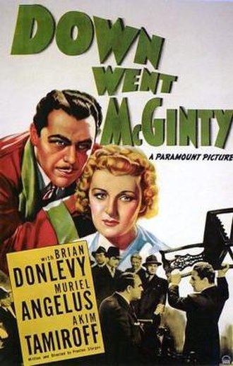 The Great McGinty - UK theatrical poster