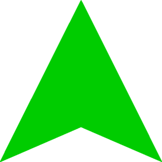 FC Dynamo Saint Petersburg - Image: Green Arrow Up(new)