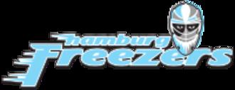 Hamburg Freezers - Image: Hamburg freezers logo
