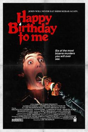 Happy Birthday to Me (film) - Theatrical Poster
