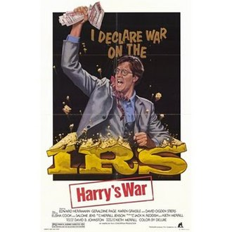 Harry's War (1981 film) - Image: Harry's War 1981 Theatrical Poster