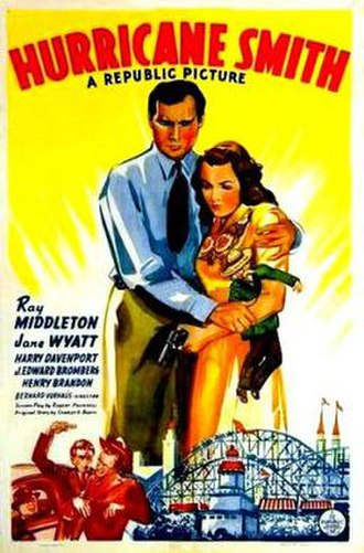 Hurricane Smith (1941 film) - Theatrical release poster