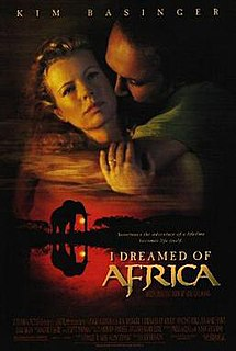 <i>I Dreamed of Africa</i> 2000 film by Hugh Hudson
