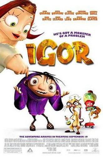 Igor (film) - Theatrical release poster