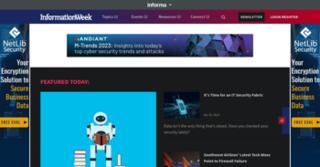 <i>InformationWeek</i> monthly web magazine