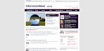 InformationWeek screenshot