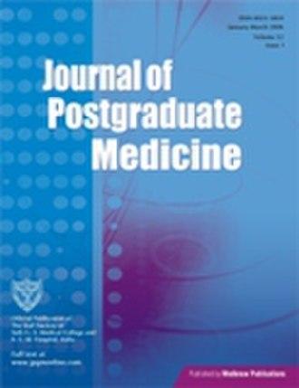 Journal of Postgraduate Medicine - Image: JPGM Cover