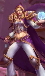 Jaina Proudmoore character in Warcraft