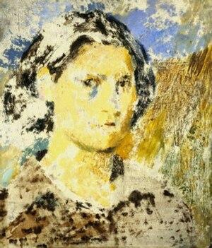 Joan Eardley - Self-portrait, 1943