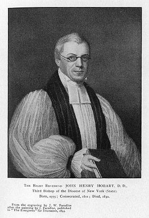John Henry Hobart - Image: John Henry Hobart
