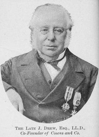 Joseph Drew - Image: Joseph Drew 1880