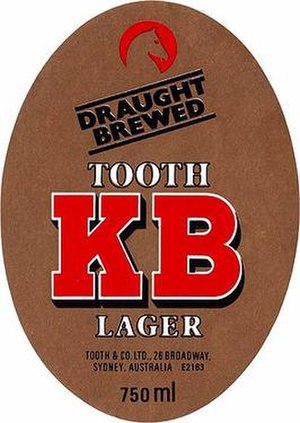 Tooth and Co. - Image: KB Lager