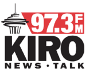 KIRO-FM - Logo for 97.3 KIRO-FM as used from 2008 to 2012.