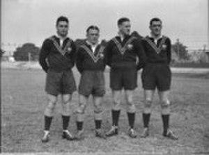 Jack Beaton - Image: Kangaroo Debutants 1936