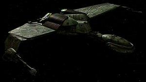 Klingon starships - Image: Klingon K'Vort class