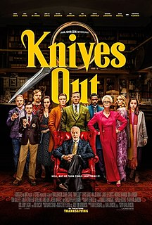 <i>Knives Out</i> 2019 American mystery film by Rian Johnson