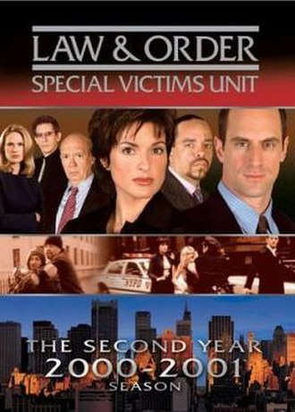 Law & Order: Special Victims Unit (season 2) - Season 2 U.S. DVD cover