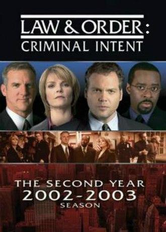 Law & Order: Criminal Intent (season 2) - Season 2 U.S. DVD cover