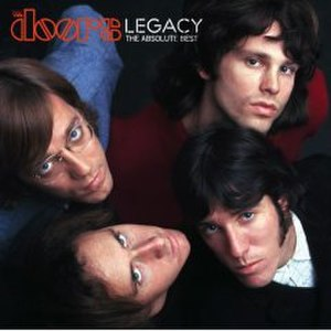 Legacy: The Absolute Best - Image: Legacy The Doorsalbum