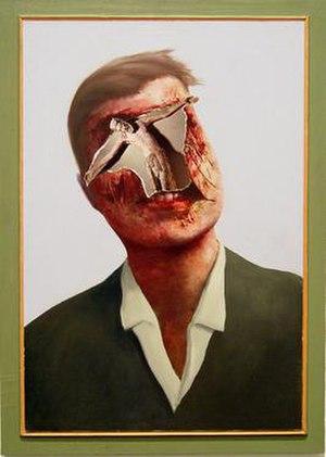 Llyn Foulkes - Crucifixion by Llyn Foulkes, 1985