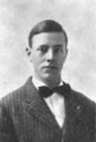 Melville H. Long - Long in his college yearbook