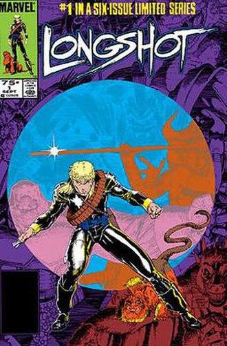 Arthur Adams (comics) - Image: Longshot 1Cover