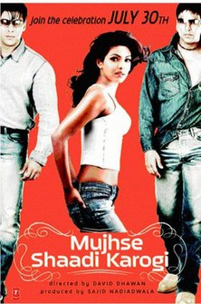 <i>Mujhse Shaadi Karogi</i> 2004 film by David Dhawan