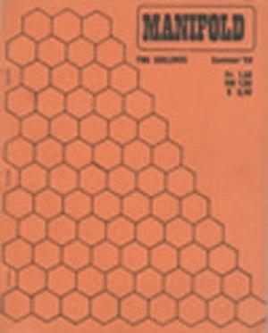 Manifold (magazine) - Image: Manifold magazine cover