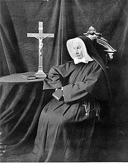 Irish-born foundress of the New Jersey Sisters of Charity
