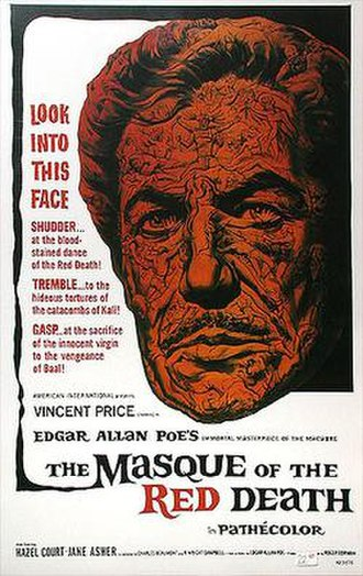 The Masque of the Red Death (1964 film) - Theatrical release poster by Reynold Brown