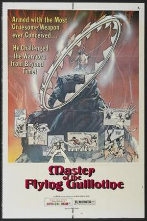 Master of the Flying Guillotine - American theatrical release poster