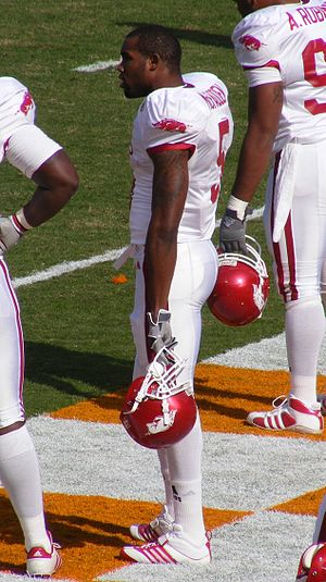 Darren McFadden - McFadden in 2007 during a game between Arkansas and the University of Tennessee at Neyland Stadium