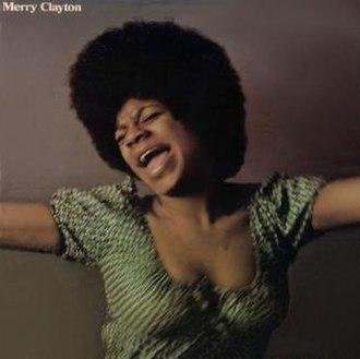 Merry Clayton (album) - Image: Merry Clayton album cover
