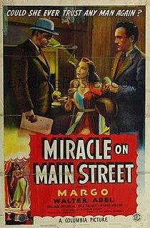 <i>Miracle on Main Street</i> 1939 American film