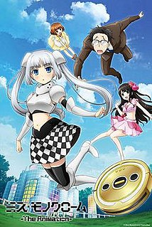 <i>Miss Monochrome</i> Character created by Yui Horie