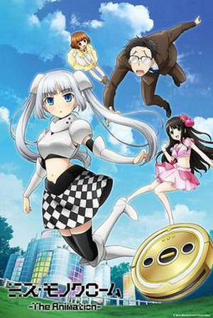 Miss Monochrome - Promotional poster featuring main characters.