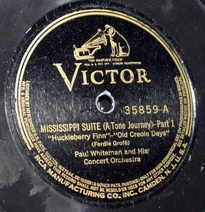 Mississippi Suite - 1927 Victor Recors 78 release.