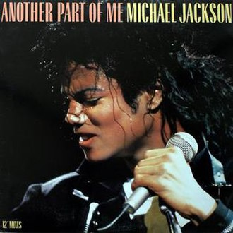 Another Part of Me - Image: Mj anotherpartofme